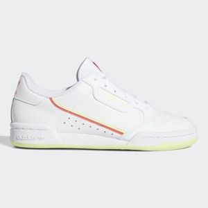 ADIDAS Continental 80 J 'White Red Yellow'